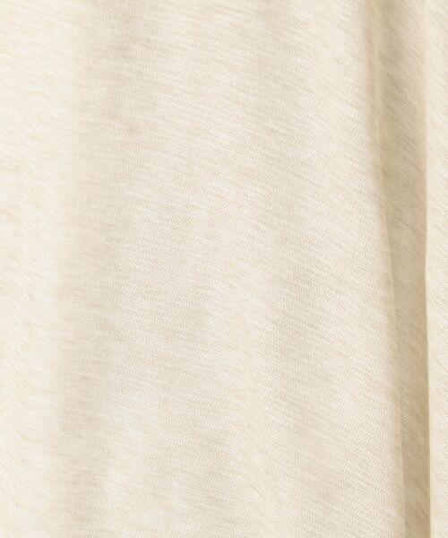 L size ONWARD(大きいサイズ) / エルサイズオンワード カーディガン・ボレロ | 【接触冷感】レーヨンキュプラシャインフライス ショート丈 カーディガン | 詳細23