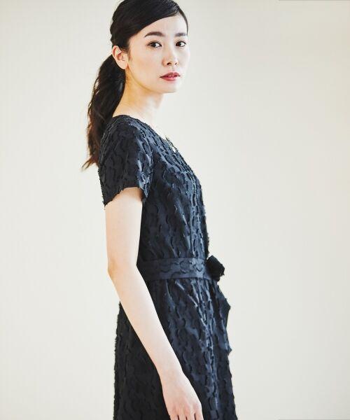 L size ONWARD(大きいサイズ) / エルサイズオンワード ドレス