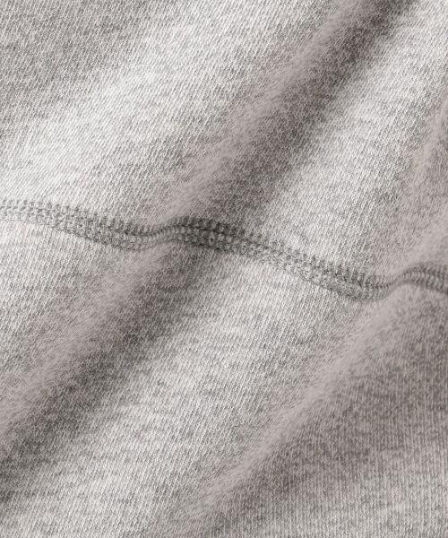L size ONWARD(大きいサイズ) / エルサイズオンワード パーカー | 【洗える】VINTAGE FRENCH TERRY パーカー | 詳細10