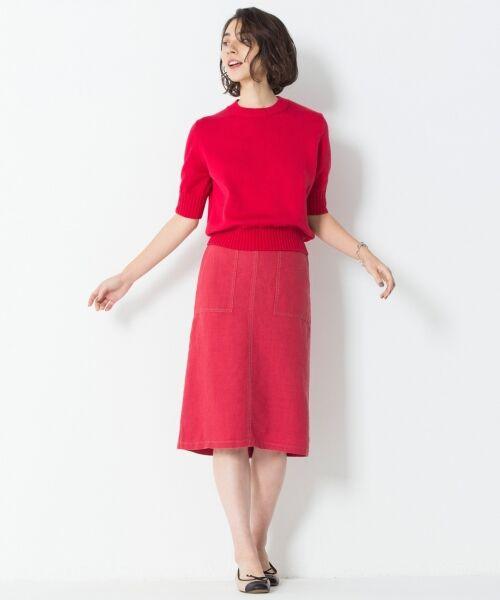 L size ONWARD(大きいサイズ) / エルサイズオンワード ニット・セーター | 【マガジン掲載】CO/SI バルキー ニット(検索番号F55) | 詳細3