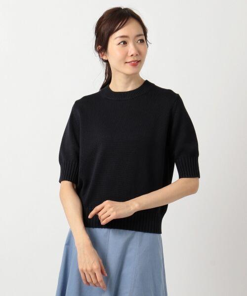 L size ONWARD(大きいサイズ) / エルサイズオンワード ニット・セーター | 【マガジン掲載】CO/SI バルキー ニット(検索番号F55) | 詳細15