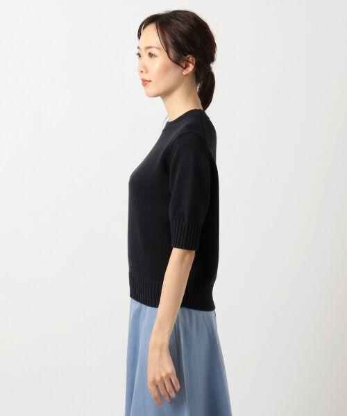 L size ONWARD(大きいサイズ) / エルサイズオンワード ニット・セーター | 【マガジン掲載】CO/SI バルキー ニット(検索番号F55) | 詳細9