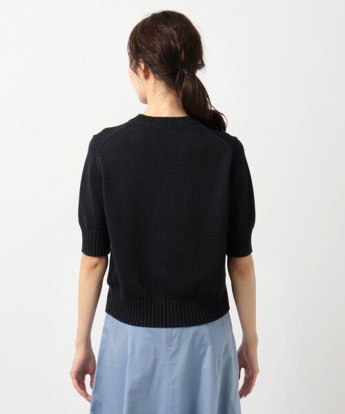 L size ONWARD(大きいサイズ) / エルサイズオンワード ニット・セーター | 【マガジン掲載】CO/SI バルキー ニット(検索番号F55) | 詳細10