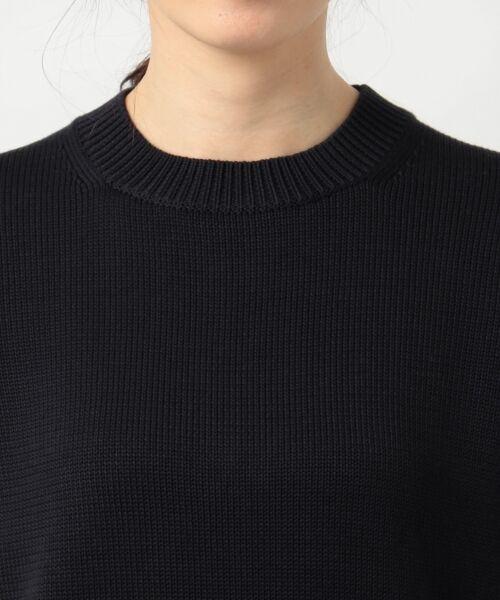 L size ONWARD(大きいサイズ) / エルサイズオンワード ニット・セーター | 【マガジン掲載】CO/SI バルキー ニット(検索番号F55) | 詳細11