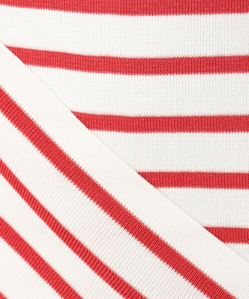 L size ONWARD(大きいサイズ) / エルサイズオンワード ニット・セーター | 【マガジン掲載】ドライコットン ボーダー ボートネックニット | 詳細16