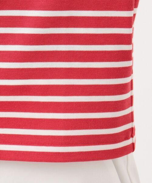 L size ONWARD(大きいサイズ) / エルサイズオンワード Tシャツ | 【中村アンさん着用】ALBINI コットンボーダー カットソー | 詳細12