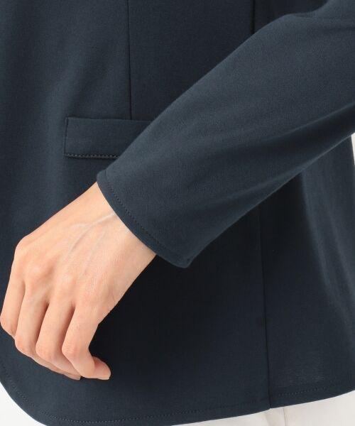 L size ONWARD(大きいサイズ) / エルサイズオンワード ノーカラージャケット | 【大好評につき追加生産&新色登場】Light Feel ジャケット | 詳細8