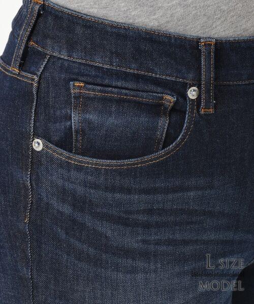 L size ONWARD(大きいサイズ) / エルサイズオンワード デニムパンツ | 【Lサイズ・一部店舗限定】23区 DENIM Tapered Skinny デニムパンツ | 詳細12