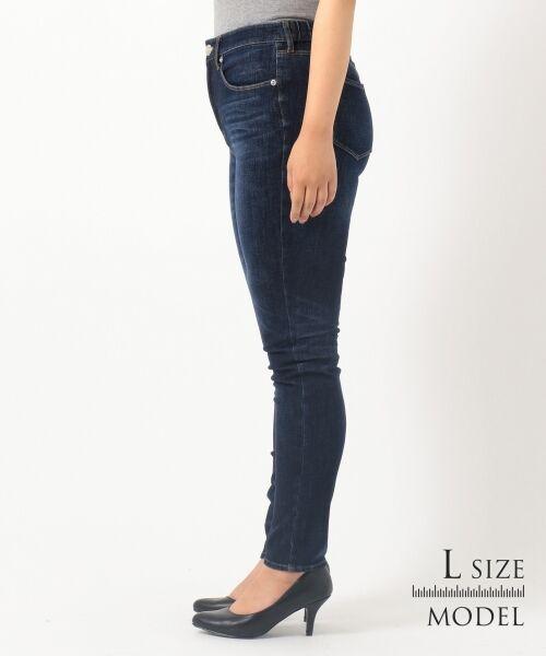 L size ONWARD(大きいサイズ) / エルサイズオンワード デニムパンツ | 【Lサイズ・一部店舗限定】23区 DENIM Tapered Skinny デニムパンツ | 詳細7