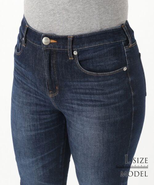 L size ONWARD(大きいサイズ) / エルサイズオンワード デニムパンツ | 【Lサイズ・一部店舗限定】23区 DENIM Tapered Skinny デニムパンツ | 詳細9