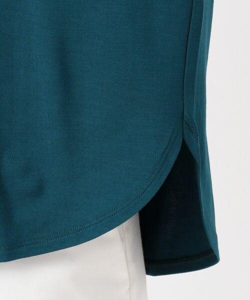 L size ONWARD(大きいサイズ) / エルサイズオンワード Tシャツ | 【UVケア】レーヨンナイロンポンチ ドルマンスリーブ Tシャツ | 詳細15