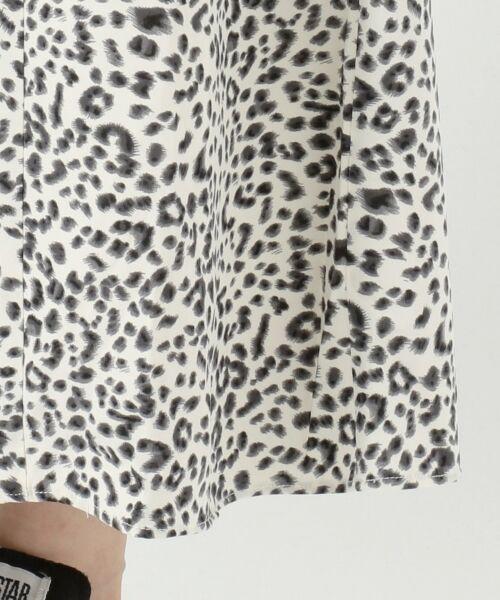 L size ONWARD(大きいサイズ) / エルサイズオンワード ミニ・ひざ丈スカート | 【L'aube】レオパードマーメイド スカート | 詳細14