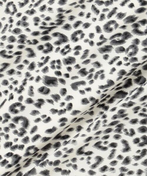 L size ONWARD(大きいサイズ) / エルサイズオンワード ミニ・ひざ丈スカート | 【L'aube】レオパードマーメイド スカート | 詳細15