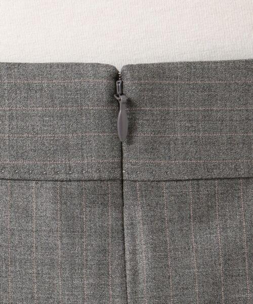 L size ONWARD(大きいサイズ) / エルサイズオンワード ミニ・ひざ丈スカート | 【セットアップ対応】ファインネスウール フレアスカート | 詳細10