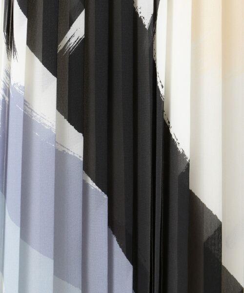 L size ONWARD(大きいサイズ) / エルサイズオンワード ミニ丈・ひざ丈ワンピース | Brushed Pleats ワンピース | 詳細10
