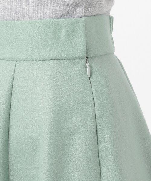 L size ONWARD(大きいサイズ) / エルサイズオンワード ミニ・ひざ丈スカート | ウールソフトジョーゼット フレアスカート | 詳細19