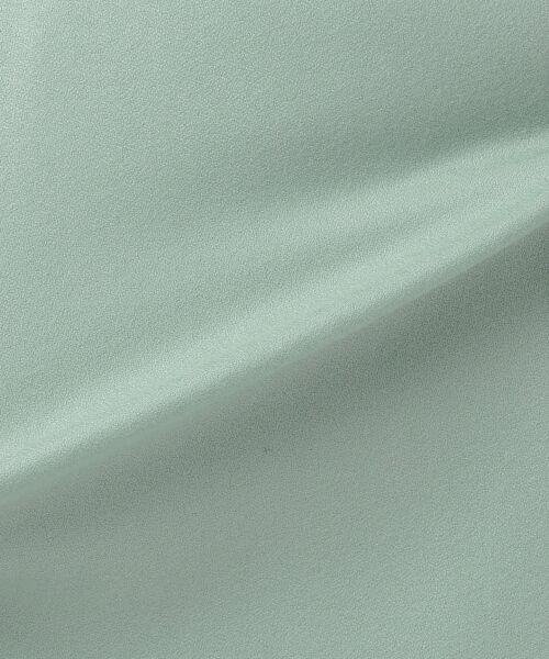 L size ONWARD(大きいサイズ) / エルサイズオンワード ミニ・ひざ丈スカート | ウールソフトジョーゼット フレアスカート | 詳細21