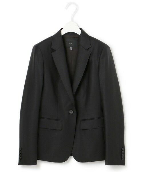 L size ONWARD(大きいサイズ) / エルサイズオンワード テーラードジャケット   【セットアップ対応】Bahariye テーラードジャケット(ブラック系)