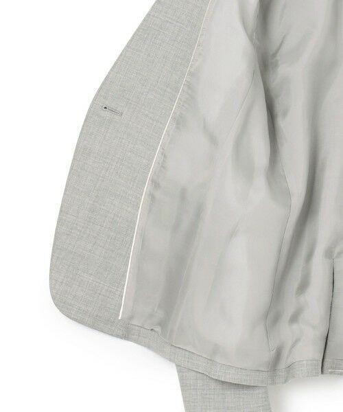 L size ONWARD(大きいサイズ) / エルサイズオンワード ノーカラージャケット | 【セットアップ対応】Bahariye ノーカラージャケット | 詳細7
