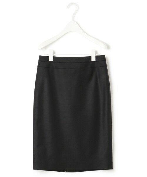 L size ONWARD(大きいサイズ) / エルサイズオンワード ミニ・ひざ丈スカート | 【セットアップ対応】Bahariye タイトスカート(ブラック系)