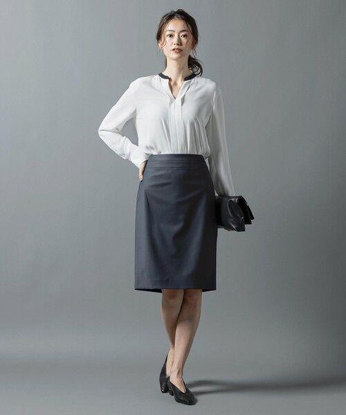 L size ONWARD(大きいサイズ) / エルサイズオンワード ミニ・ひざ丈スカート | 【セットアップ対応】Bahariye タイトスカート | 詳細7