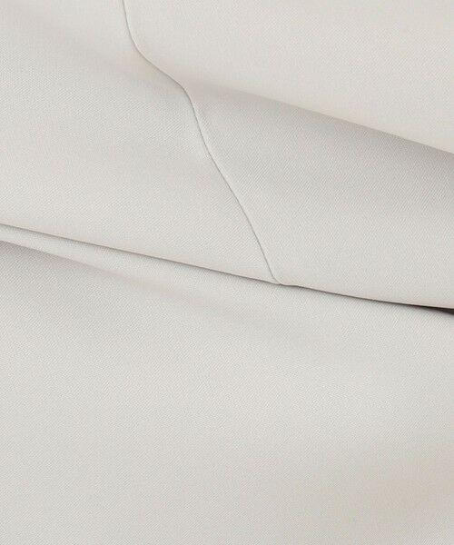 L size ONWARD(大きいサイズ) / エルサイズオンワード ミニ・ひざ丈スカート   【UV/抗菌防臭/防シワ】コンパクト2wayダブルクロス フレアスカート   詳細14