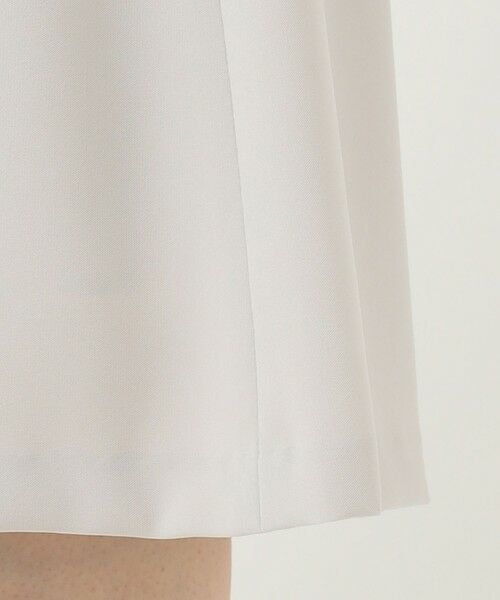 L size ONWARD(大きいサイズ) / エルサイズオンワード ミニ・ひざ丈スカート   【UV/抗菌防臭/防シワ】コンパクト2wayダブルクロス フレアスカート   詳細15