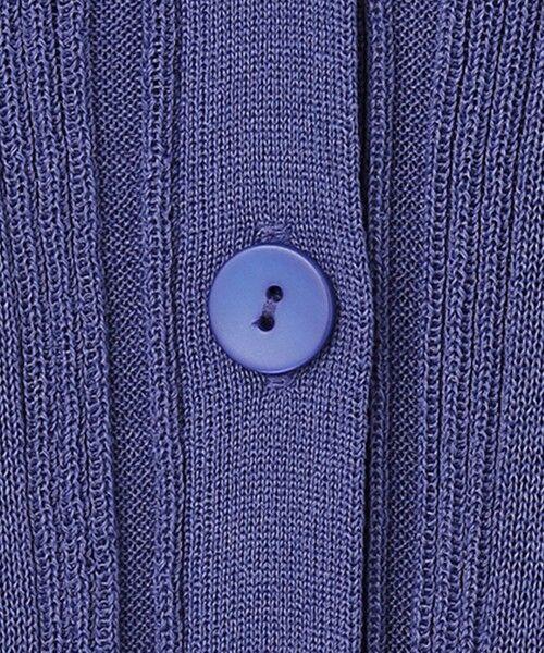L size ONWARD(大きいサイズ) / エルサイズオンワード カーディガン・ボレロ | 【マガジン掲載】Undulate カーディガン(番号CK25) | 詳細14