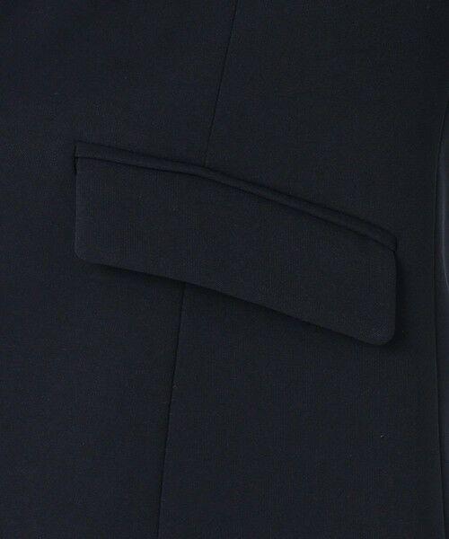 L size ONWARD(大きいサイズ) / エルサイズオンワード テーラードジャケット   【UV/抗菌防臭/防シワ】コンパクト2wayダブルクロス テーラードジャケット   詳細12