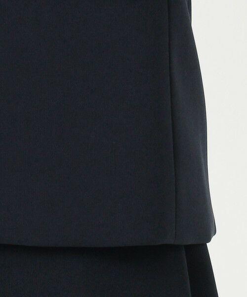 L size ONWARD(大きいサイズ) / エルサイズオンワード テーラードジャケット   【UV/抗菌防臭/防シワ】コンパクト2wayダブルクロス テーラードジャケット   詳細13