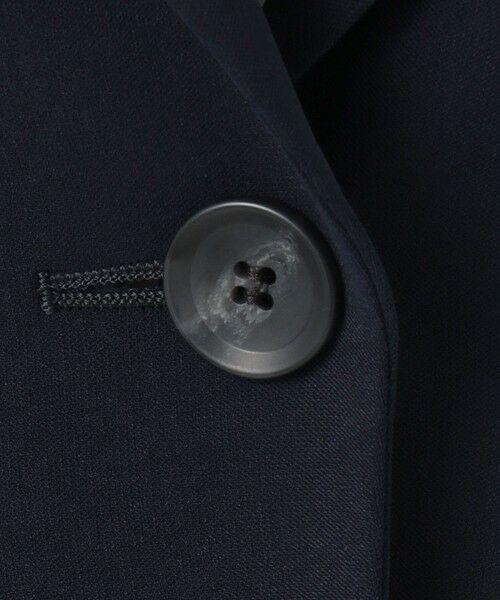 L size ONWARD(大きいサイズ) / エルサイズオンワード テーラードジャケット   【UV/抗菌防臭/防シワ】コンパクト2wayダブルクロス テーラードジャケット   詳細14