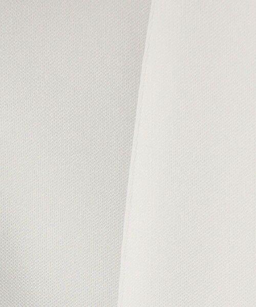 L size ONWARD(大きいサイズ) / エルサイズオンワード ノーカラージャケット | 【UV/抗菌防臭/防シワ】コンパクト2wayダブルクロス カラーレスジャケット | 詳細8