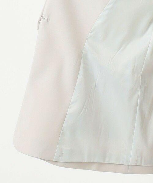 L size ONWARD(大きいサイズ) / エルサイズオンワード ノーカラージャケット | 【UV/抗菌防臭/防シワ】コンパクト2wayダブルクロス カラーレスジャケット | 詳細11