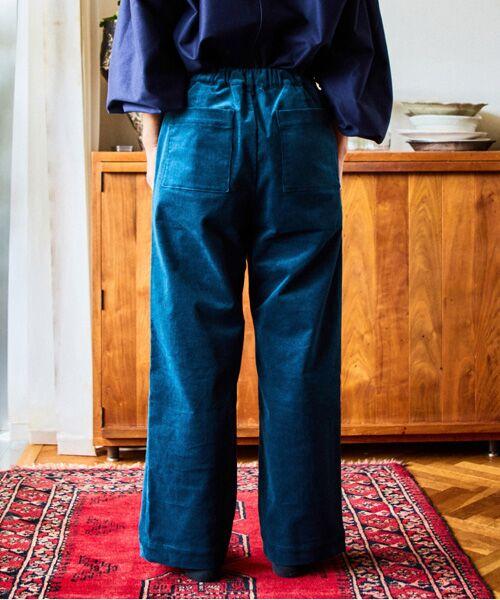LOURMARIN / ルールマラン その他パンツ | 【料理家ワタナベマキさん×LOURMARINのコラボレーション企画 コーデュロイストレッチイージーパンツ】 | 詳細12
