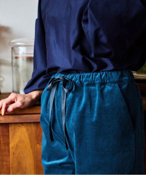 LOURMARIN / ルールマラン その他パンツ | 【料理家ワタナベマキさん×LOURMARINのコラボレーション企画 コーデュロイストレッチイージーパンツ】 | 詳細14