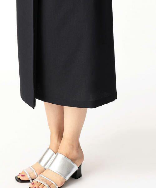 LUMINOSO COMMECA / ルミノーゾ・コムサ ミニ・ひざ丈スカート   ドライタッチ巻きスカート   詳細7
