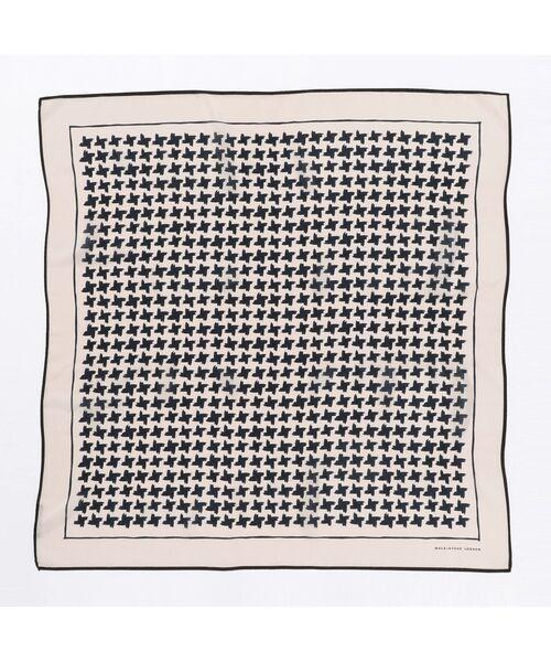MACKINTOSH LONDON / マッキントッシュ ロンドン  バンダナ・スカーフ   ハウンドトゥーススカーフ   詳細2