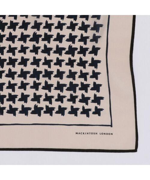 MACKINTOSH LONDON / マッキントッシュ ロンドン  バンダナ・スカーフ   ハウンドトゥーススカーフ   詳細5