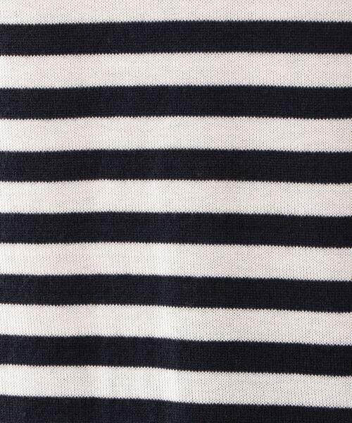 MACKINTOSH LONDON / マッキントッシュ ロンドン  ニット・セーター | 12G ウールキュプラボーダーニット | 詳細11