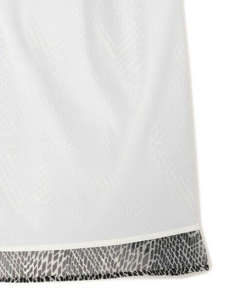 MACKINTOSH LONDON / マッキントッシュ ロンドン  ロング・マキシ丈スカート | モノトーンウェーブスカート | 詳細8