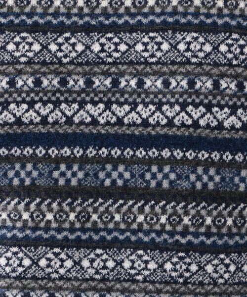 MACKINTOSH LONDON (MENS) / マッキントッシュ ロンドン  メンズ ニット・セーター | 12ゲージ フェアアイルジャガード クルーネック | 詳細9