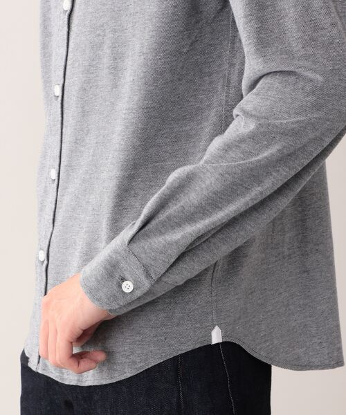 MACKINTOSH LONDON (MENS) / マッキントッシュ ロンドン  メンズ シャツ・ブラウス | 先染めシャンブレー鹿の子 ボタンダウンシャツ | 詳細6