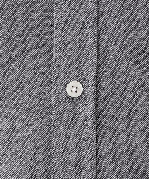 MACKINTOSH LONDON (MENS) / マッキントッシュ ロンドン  メンズ シャツ・ブラウス | 先染めシャンブレー鹿の子 ボタンダウンシャツ | 詳細7