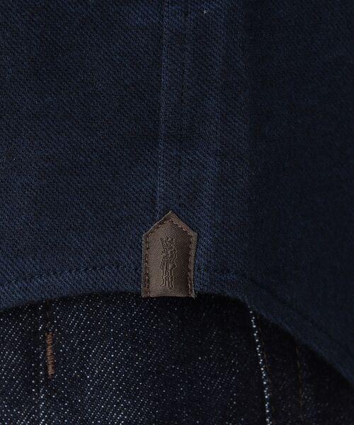 MACKINTOSH LONDON (MENS) / マッキントッシュ ロンドン  メンズ シャツ・ブラウス | 先染めシャンブレー鹿の子 ボタンダウンシャツ | 詳細10