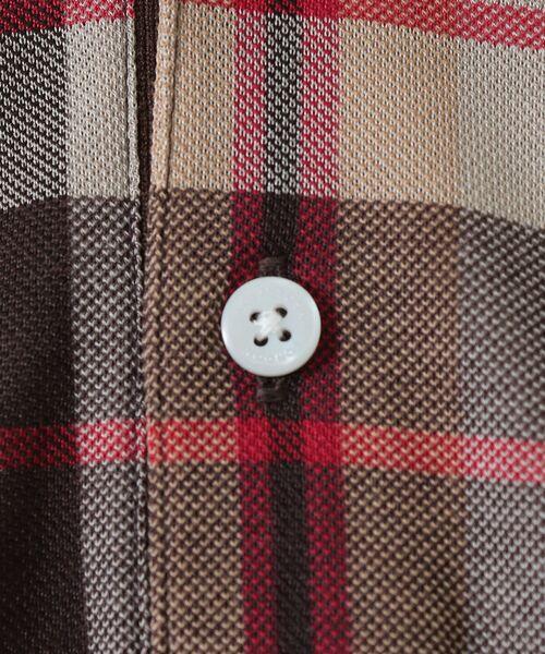 MACKINTOSH LONDON (MENS) / マッキントッシュ ロンドン  メンズ カットソー | ハウスチェックポロシャツ | 詳細7