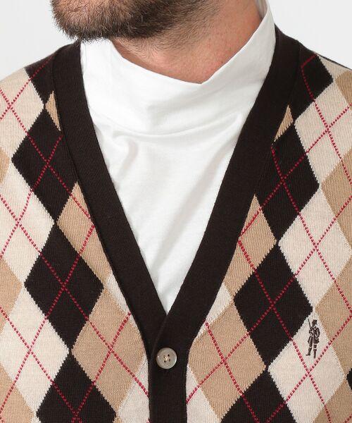 MACKINTOSH LONDON(MENS) / マッキントッシュ ロンドン  メンズ ニット・セーター | 14GGフロント釦ニットベスト | 詳細4