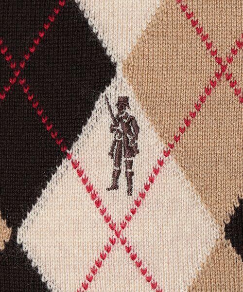 MACKINTOSH LONDON(MENS) / マッキントッシュ ロンドン  メンズ ニット・セーター | 14GGフロント釦ニットベスト | 詳細8