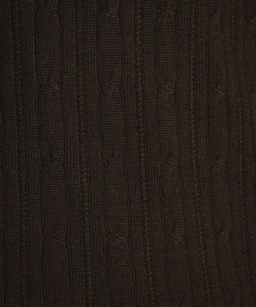MACKINTOSH LONDON(MENS) / マッキントッシュ ロンドン  メンズ ニット・セーター   12ゲージケーブルニット   詳細7