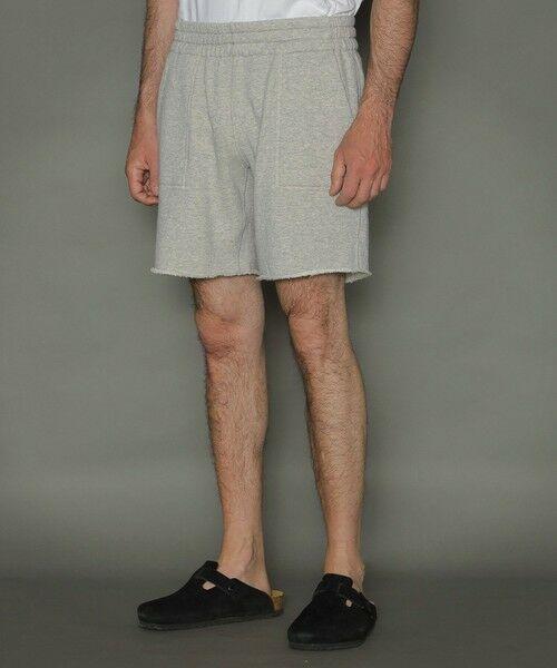 MACKINTOSH LONDON(MENS) / マッキントッシュ ロンドン  メンズ カットソー | ◆◆リバーシブル吊り裏毛ショートパンツ | 詳細7