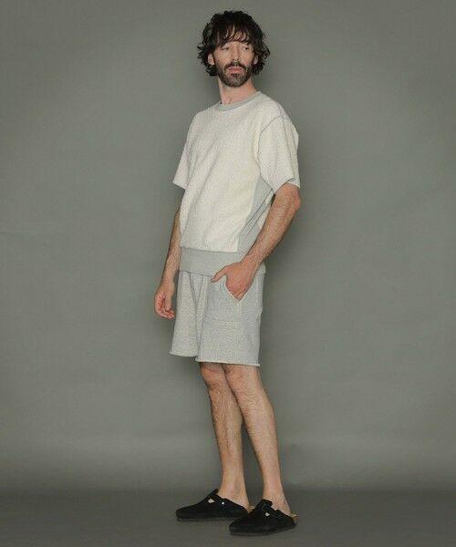 MACKINTOSH LONDON(MENS) / マッキントッシュ ロンドン  メンズ カットソー | ◆◆リバーシブル吊り裏毛ショートパンツ | 詳細5